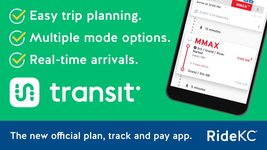 Features of Transit App.