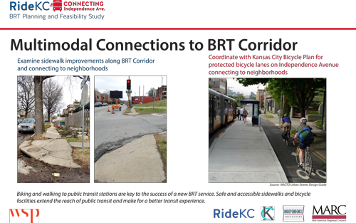 Connections to BRT