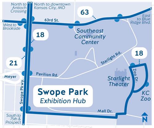 Swope Park bus service
