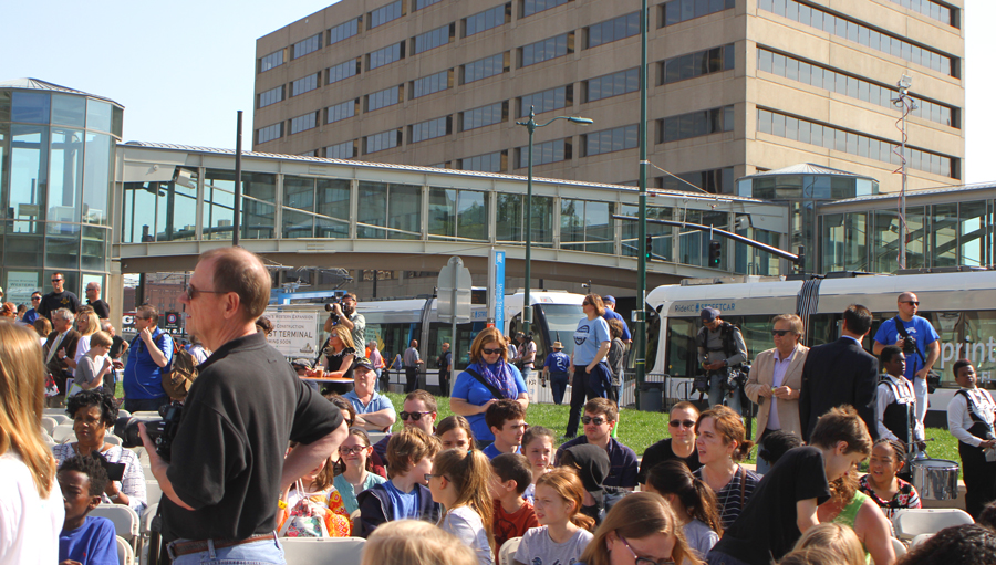 The May 6 launch of the KC Streetcar was cause for celebration.