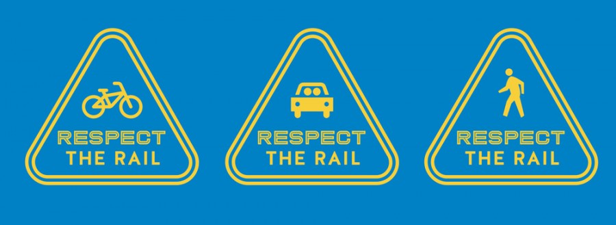 Respect the rail: Be smart. Be safe. Be ready.