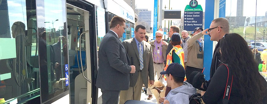 KC Streetcar Authority Wins KCATA's Community Partner Award
