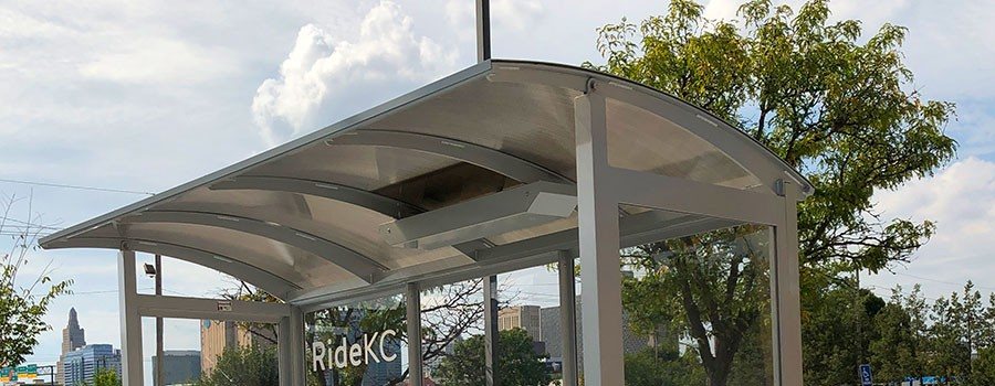 Bus shelters will have a new look, new features
