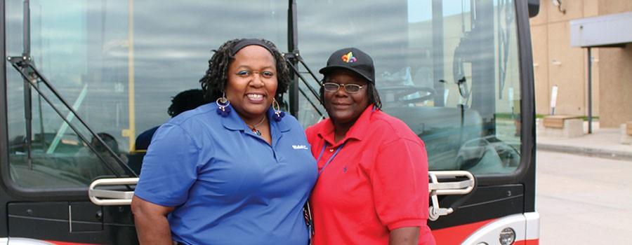 Bus Operator Profiles: Andrea and Victoria Stirgus