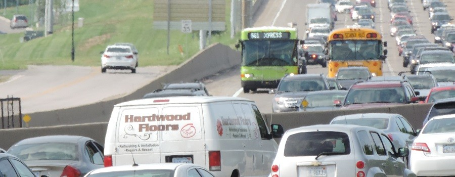 Bill would expand bus-on-shoulder service on I-35