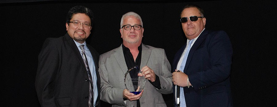 Bill George Receives Business Partner Award