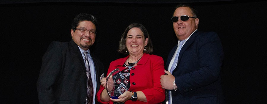 Jolie Justus Receives Champion of Transit Award