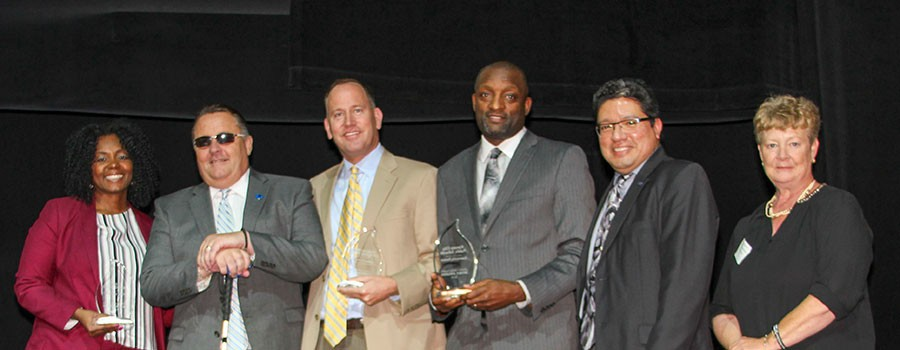 Superintendents Honored with Community Partner Award