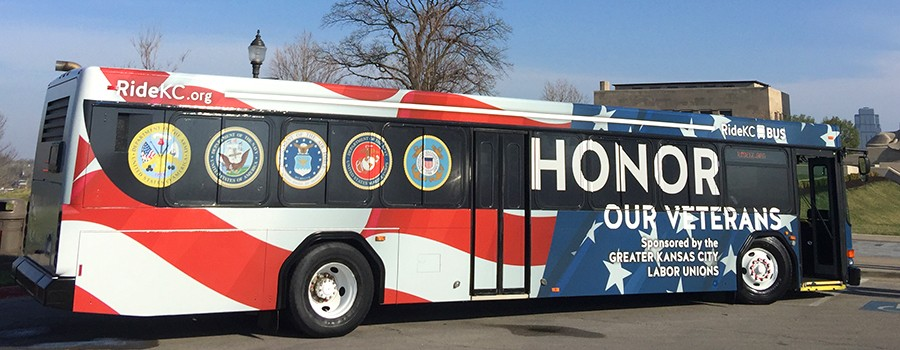 Community Honors Veterans with Free Transit