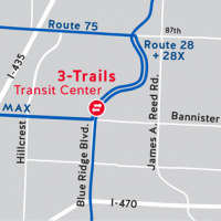 3-Trails Transit Center to anchor service in South KC