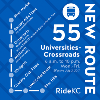 RideKC starts new route serving Kansas City colleges|