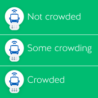 Transit Now Provides Crowding Info