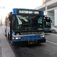 Advance Voting and Election Day with RideKC
