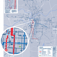 New transit system map reflects national trend