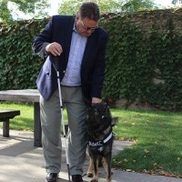 Guide dog gives KCATA chief executive freedom
