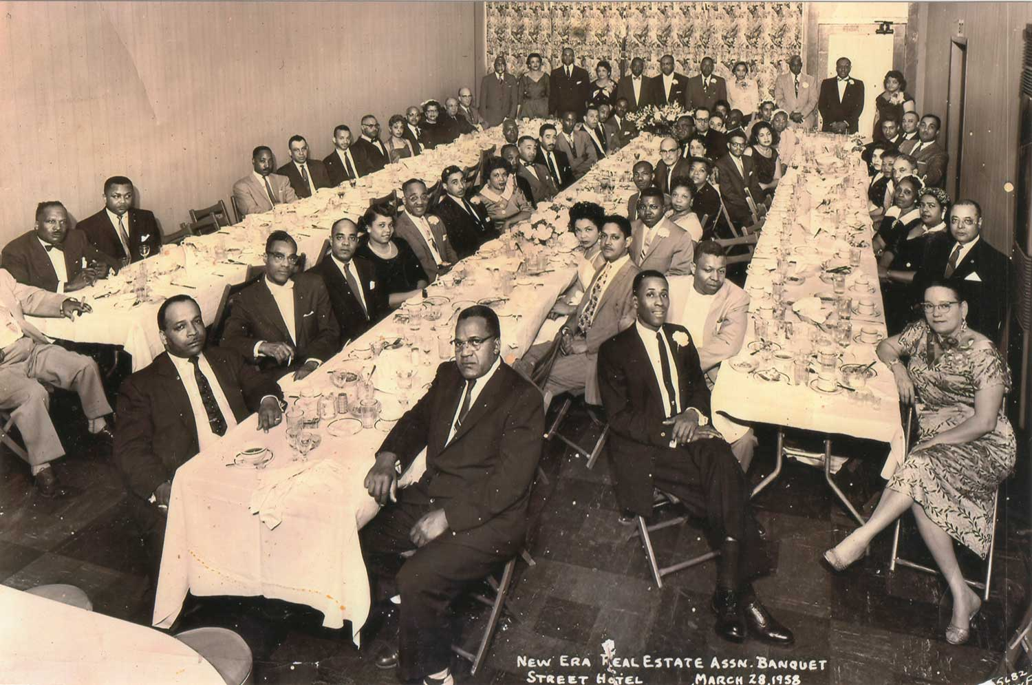 New Era Real Estate Association Banquet in 1958