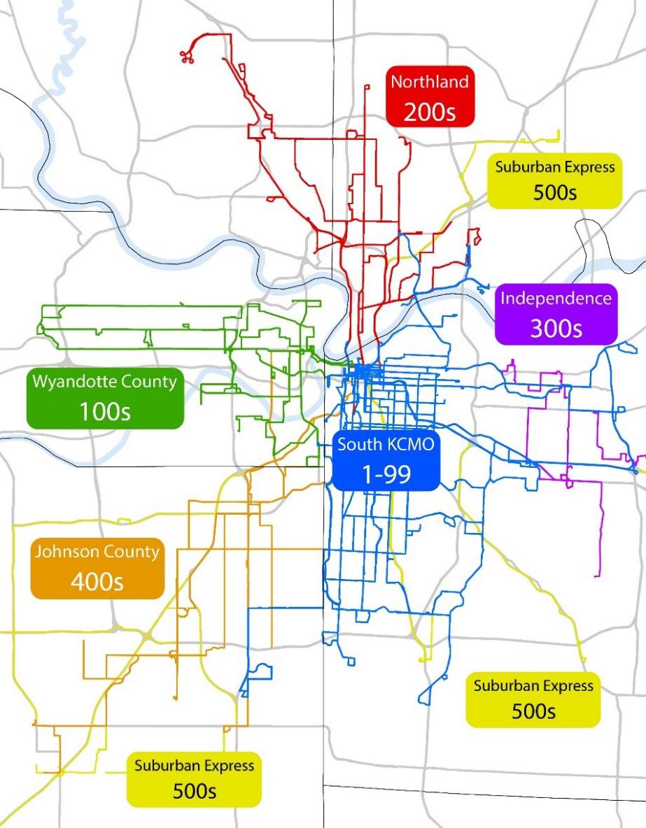 Renumber RideKC map
