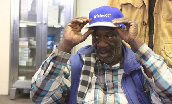 Goldman dons a RideKC cap