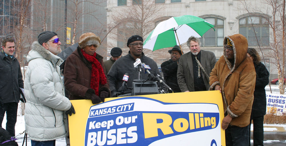 Future Mayor Sly James, 2007