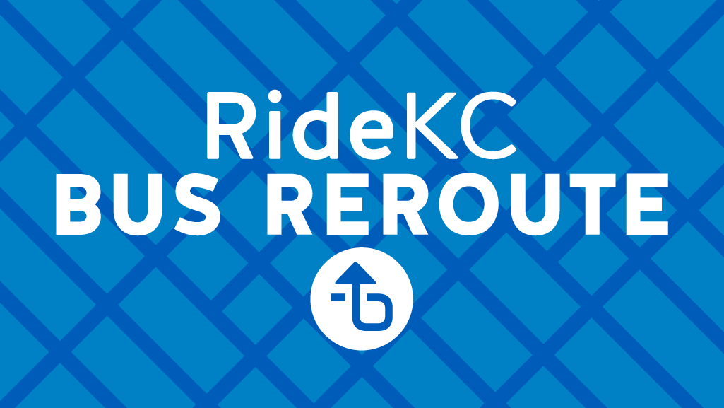 Reroute image. Blue with white text.