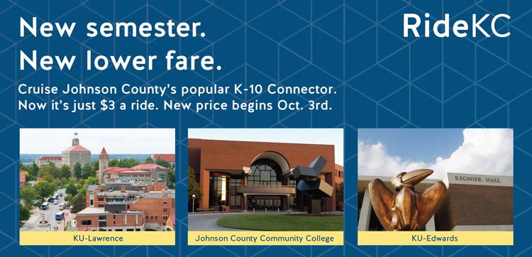 New semester. New lower fare.