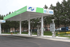 CNG station partial