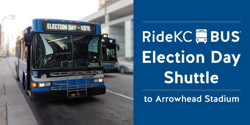 Take RideKC to Arrowhead to Vote