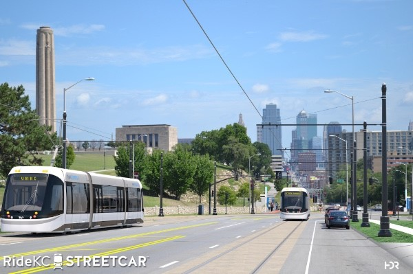 Streetcar south on Main to UMKC