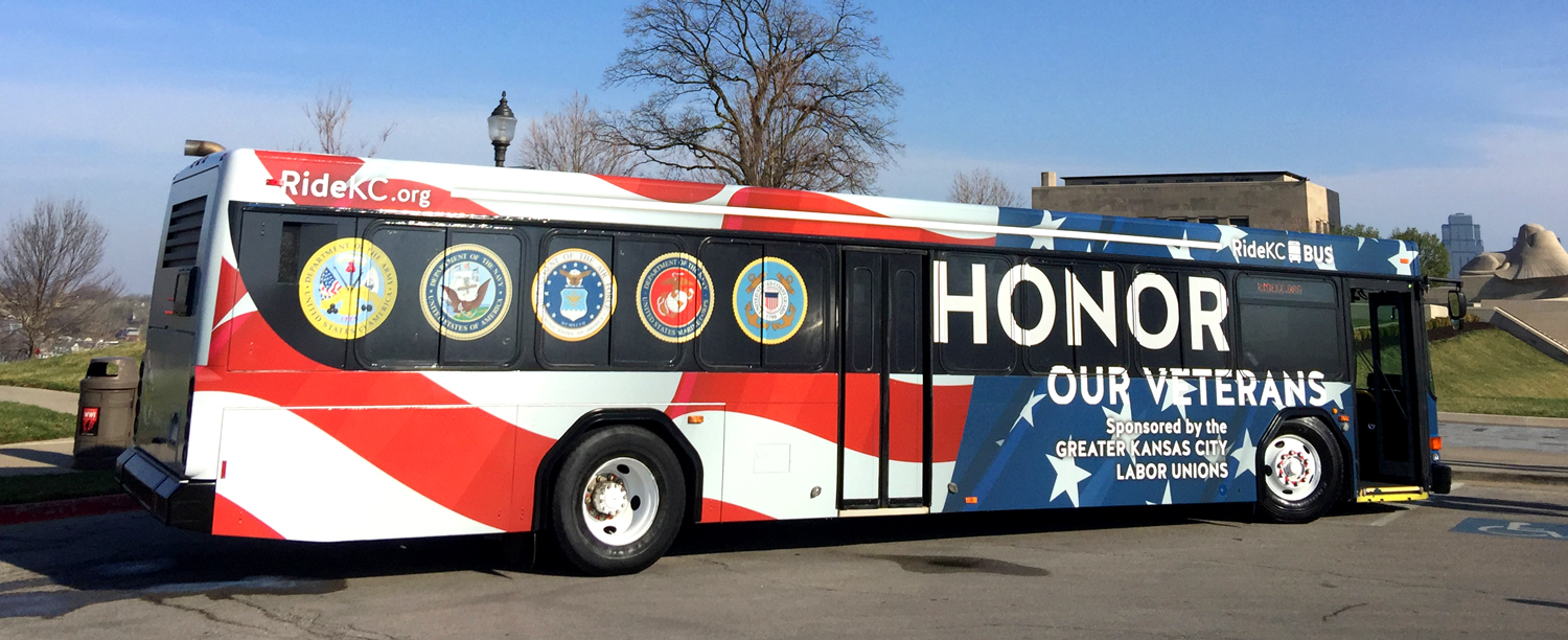 Honoring Veterans Bus