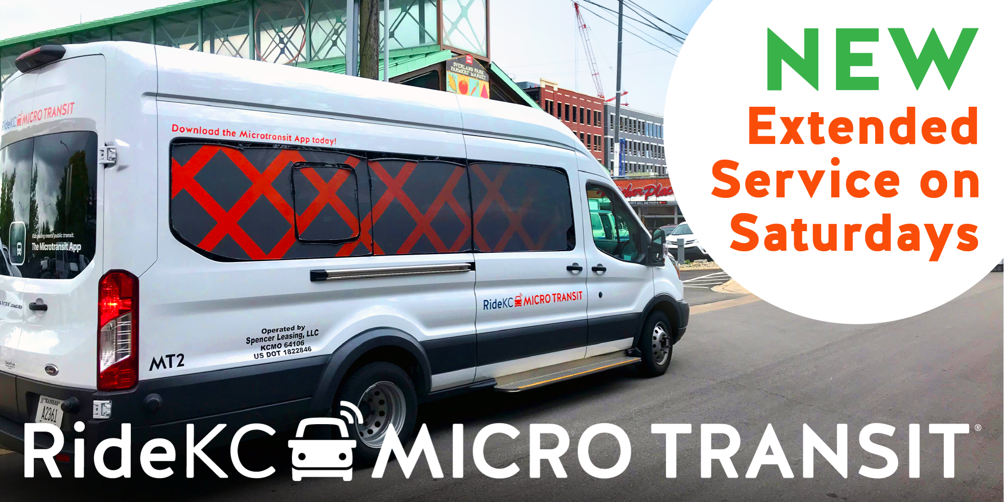 New: Saturdays on Micro Transit