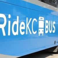 RideKC Bus close-up photograph