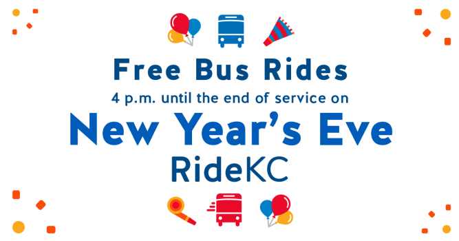New Year's Eve Revellers Can Ride Fare Free