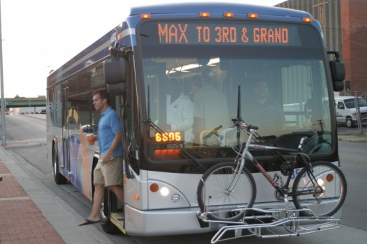 MAX Bus Rapid Transit Service Celebrates 10th Birthday in Kansas City