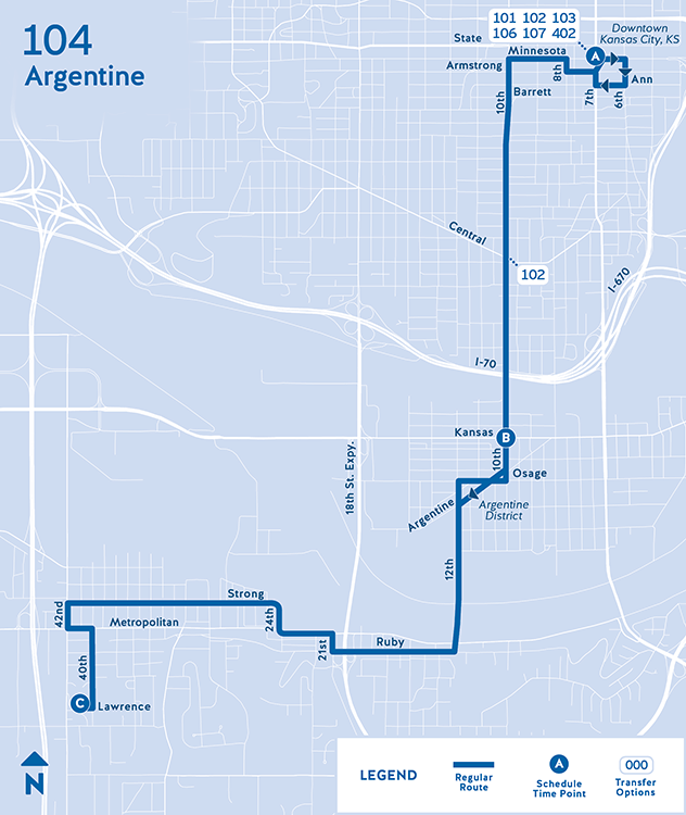 104 Argentine Routes Ridekc