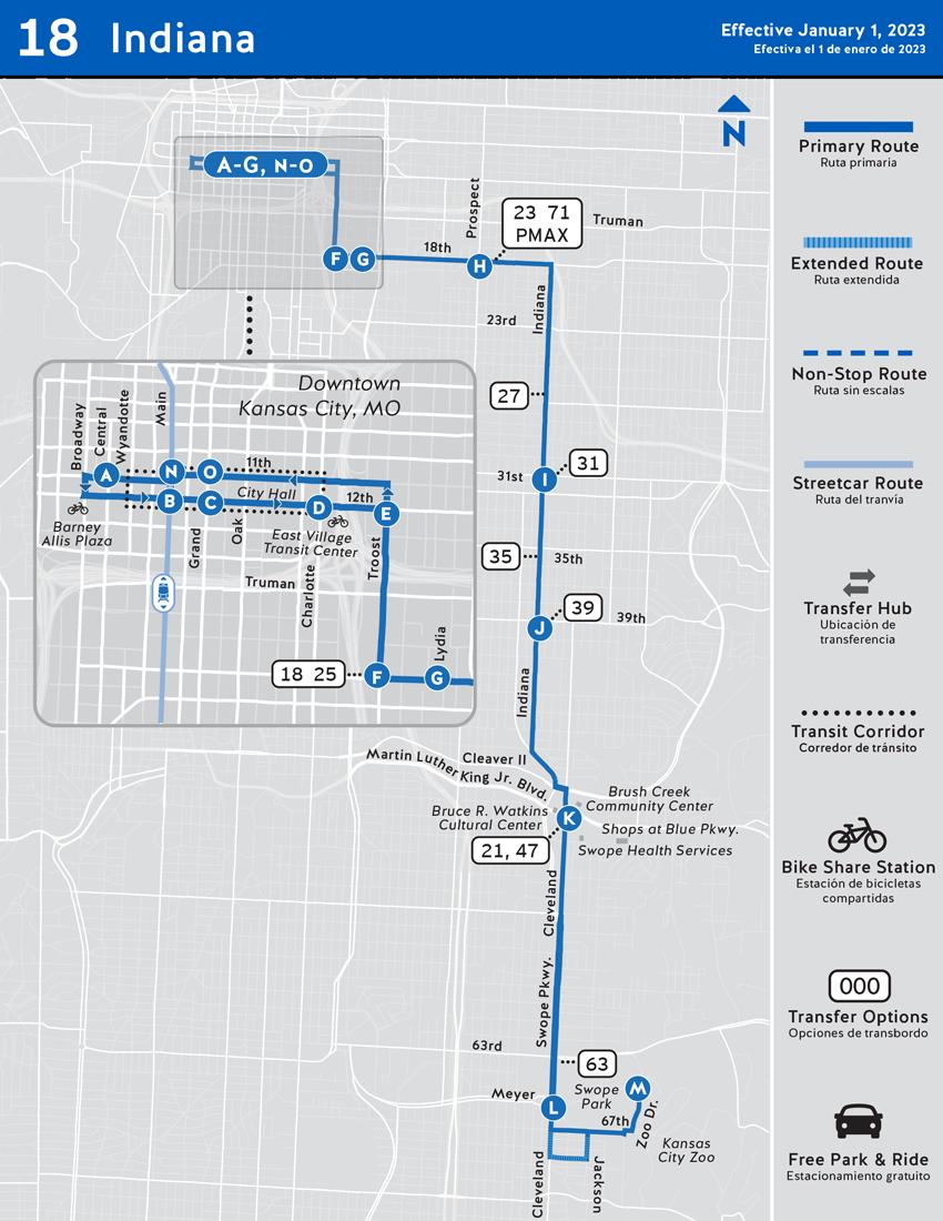 Routes | RideKC on
