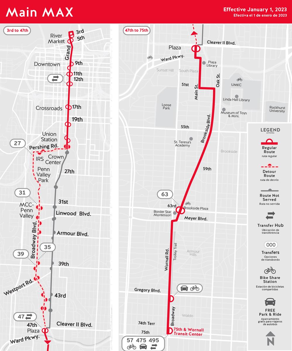 Routes Ridekc